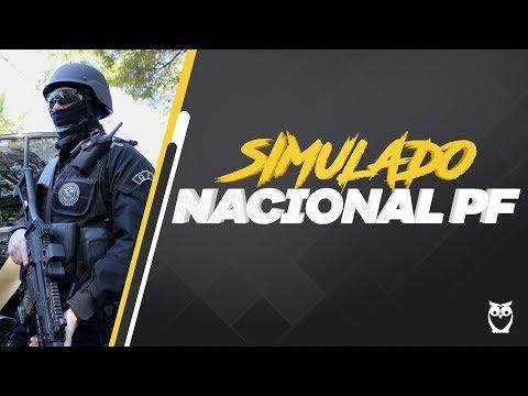 Simulado Nacional Polícia Federal - Correção