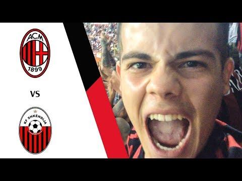 TRAVOLTI!!! - MILAN 6-0 SHKENDIJA | LIVE REACTION GOL HD