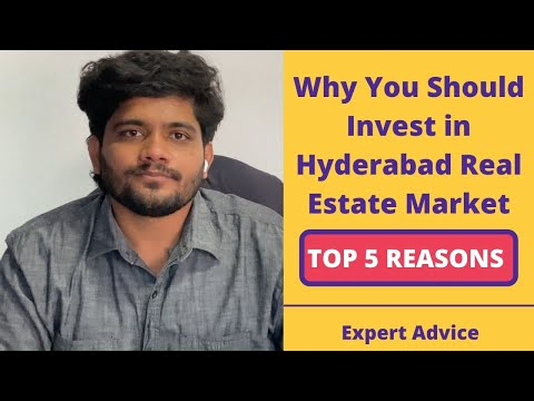 Top 5 Reasons Why to Invest in Hyderabad Real Estate Market