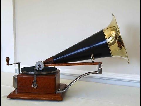 Berliner Phonograph aka Dog Model or Trade Mark Gramophone