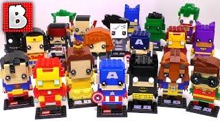 Every Brickheadz Figure Ever Made!!! All Series 1 and All Rare SDCC Figs too!!!