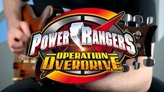 Power Rangers Operation Overdrive Theme on Guitar