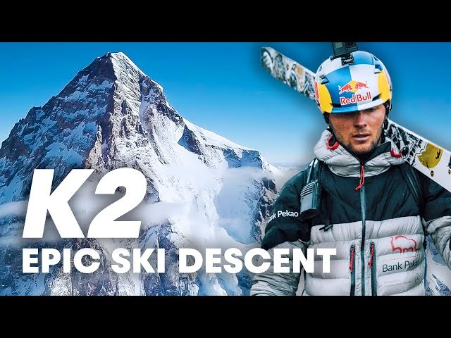 First Descent of K2 on Skis: Andrzej Bargiel   Nat Geo's 2019 Adventurer of the Year