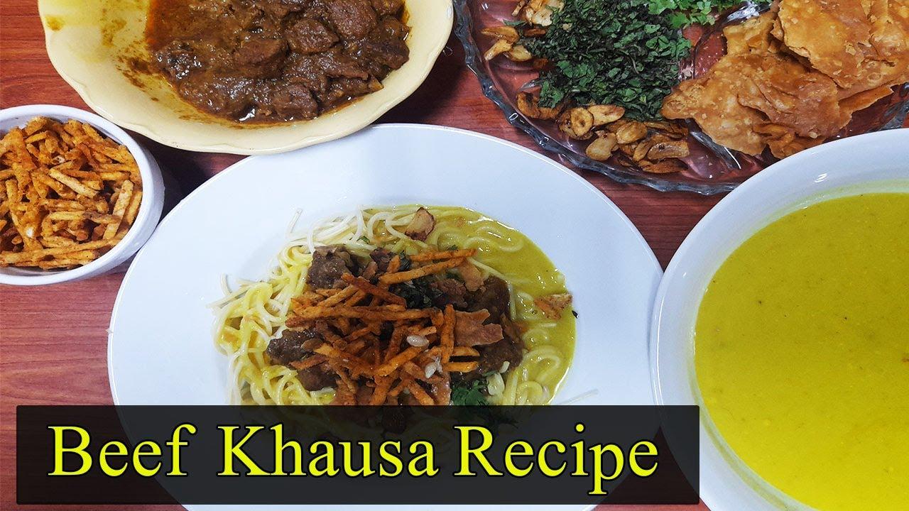Chef Uzma Recipes/Memoni Khausa Recipe/Khausa Curry In Easy Way /Memoni Khausa  Curry Recipe