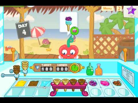 moshi monsters ice cream game open now free online virtual pet