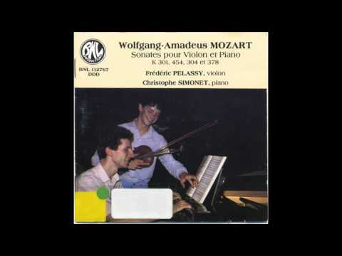 Wolfgang Amadeus Mozart – Violin Sonata No. 32 in B-flat major, K.454