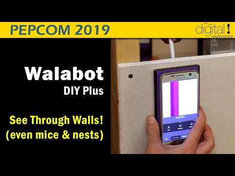 See Through Walls with Walabot DIY Plus @Pepcom 2019