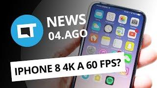 iPhone 8 pode ter câmera 4K a 60 FPS; Galaxy J5 Pro e J7 Neo no Brasil e+ [CT News]
