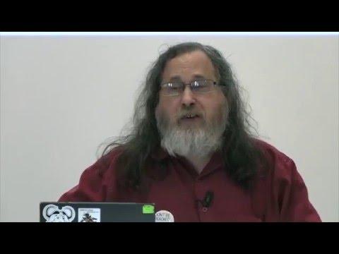 For A Free Digital Society - Richard M. Stallman