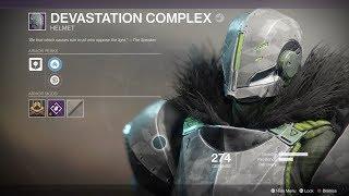 destiny 2 full devastation complex armor set titan