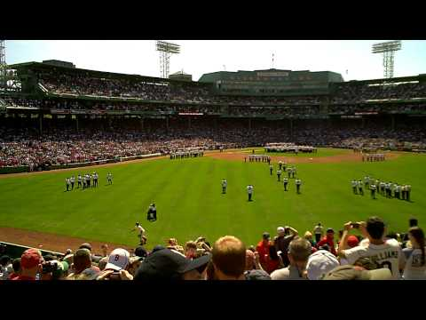 Carl Beane Introduces the 100th Anniversary Red Sox Players