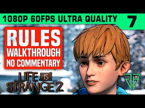 LIFE IS STRANGE 2 Episode 2 RULES Ending Gameplay Walkthrough Part 7 No Commentary PC thumbnail
