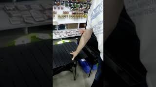 Блиц обзор: Складной алюминиевый стол для пикника