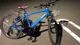 パナソニック電動自転車ハリヤ BE-ELH42 1216 20170420撮影.