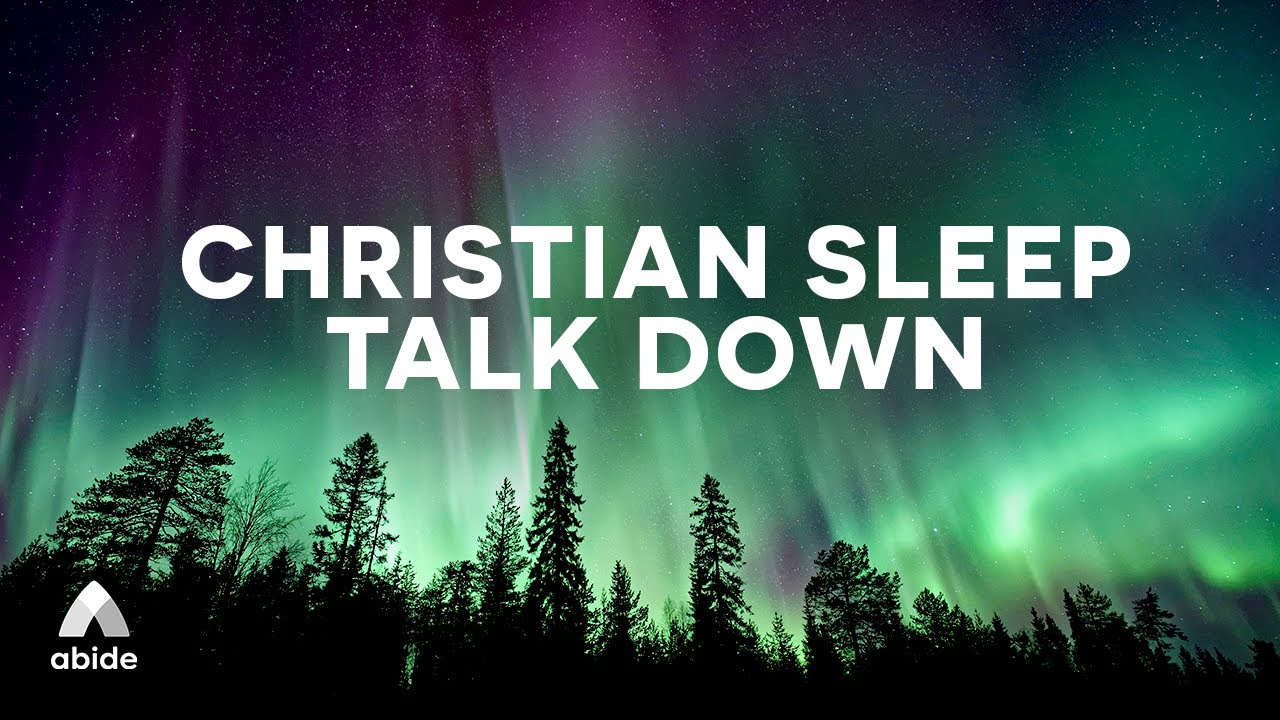 Spoken Word Sleep Music Meditation: SYMPHONY OF PEACE 😴 Christian Sleep Talk Down Guided Meditation