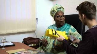 Amnesty HU meets Alice in Douala