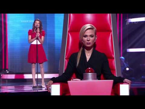 Видео: Голос. Виктория Черенцова Шопен - 10.10.2014