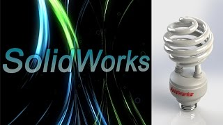 SolidWorks. Лампа дневного света. (Урок 17) / Уроки SolidWorks