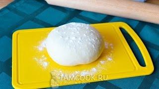 Тесто для мантов — видео рецепт