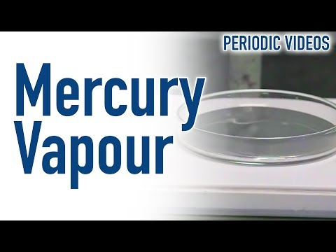 Looking At Mercury Vapour - Periodic Table Of Videos