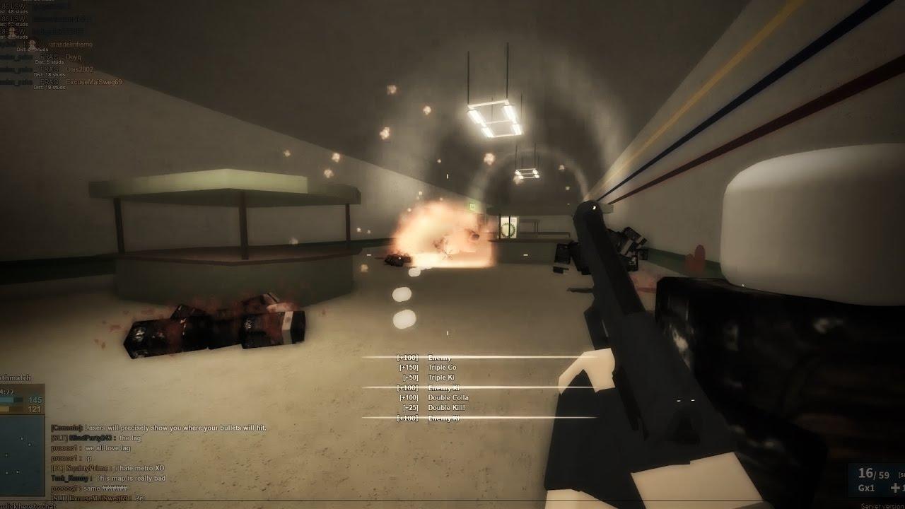Grenade Trolling In Roblox Phantom Forces Youtube