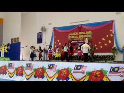 Action Song Presentation By SK Jalan 3 BBBangi Part 2