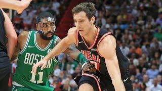 Miami Heat Snap Celtics 16 Game Winning Streak! 2017-18 Season