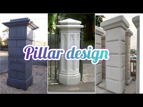 Gate pillars design||