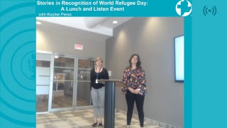 Stories in Recognition of World Refugee Day thumbnail