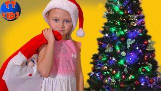 Наряжаем Елку С Ярославой! Много Игрушек и Новогодние Украшения Видео для детей