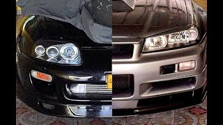 SUPRA VS SKYLINE, Epic Big Turbo Sounds!!!