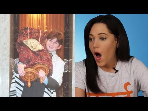 Jews React To Old Bar Mitzvah Photos