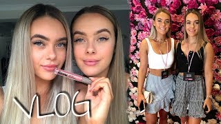 Vlog | Everything beauty!! (events, trying superfood makeup?!)