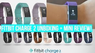 FITBIT CHARGE 2 UNBOXING + MINI REVIEW!!