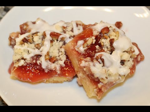 Making Cherry Pie Bars – Recipe