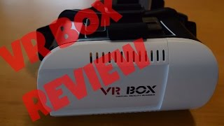 Low Cost VR Box Review! Google Cardboard Alternative!