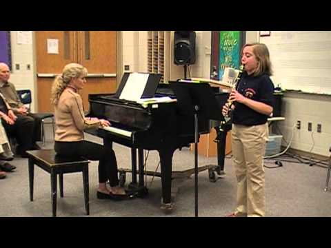 Kaitlin Palmersheim North Middle School Recital April 17th 2013