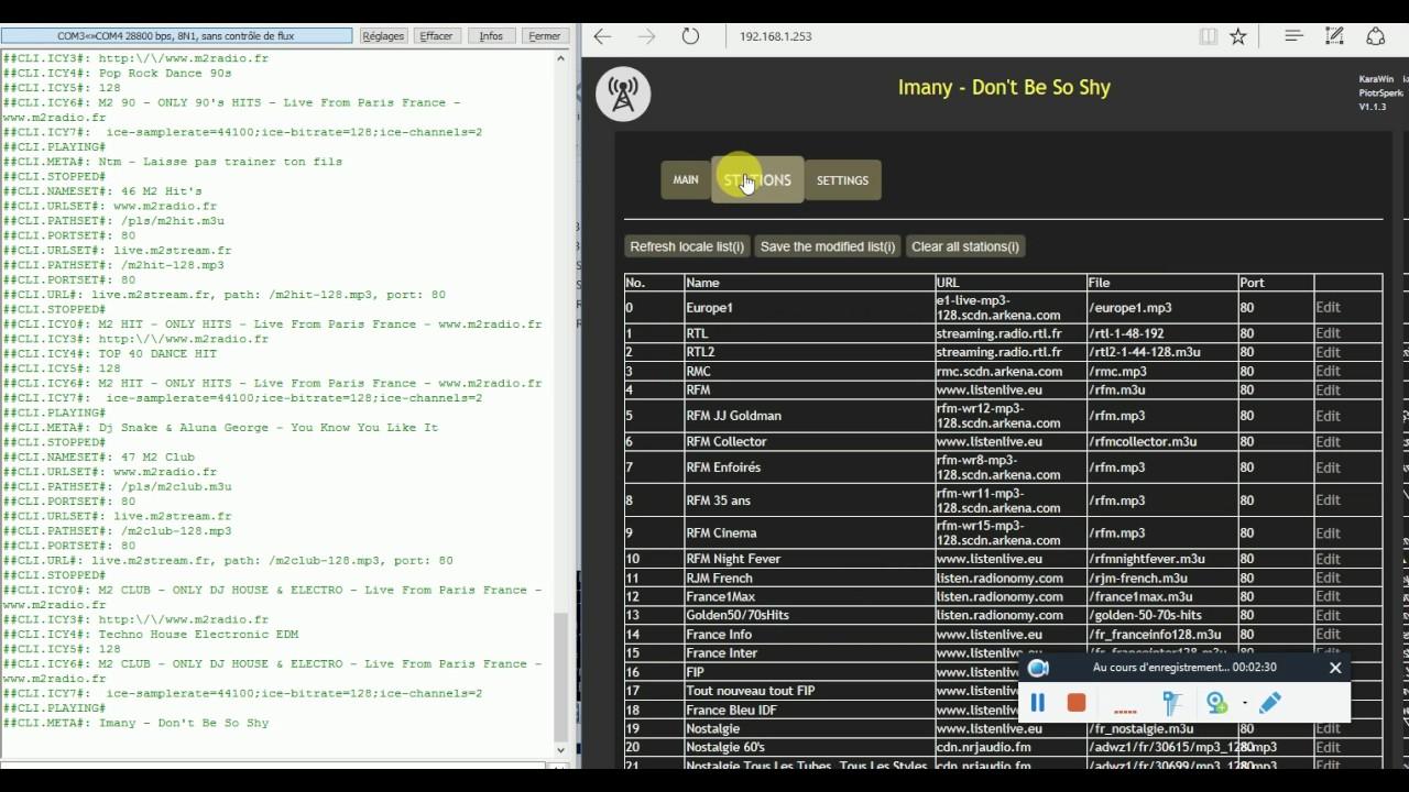 WiFi Webradio on ESP8266 or ESP32 | Hackaday io
