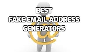 email generators