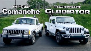 Jeep Truck Review (2020 Gladiator vs 1987 Comanche)