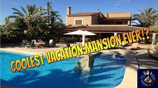 Mallorca Vlog | COOLEST VACATION MANSION EVER!? | Travel Vlog #1