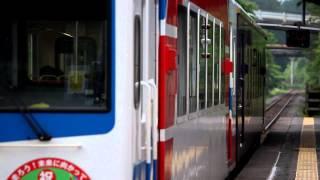 三陸鉄道南リアス線 36-R3形+36-700形205D 吉浜駅発車① 2014年6月22日