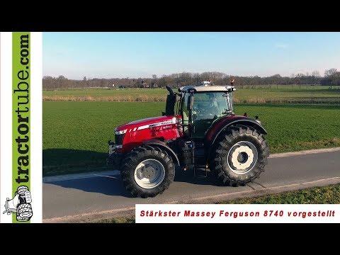MF Power - Der Stärkste Massey Ferguson 8740 Wird Kurz Vorgestellt - Deutsche Version