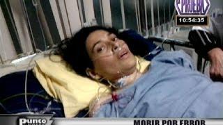 Muerte por error: Familia denuncia negligencia médica en conocida clínica de Lima