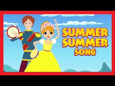 SUMMER SUMMER Song - LITTLE MERMAID Version || Rhymes And Songs For Kids