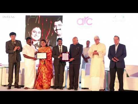 DOYENS Healthcare Awards 2018 -Top Hospitals in TamilNadu. ARC Fertility Hospitals India