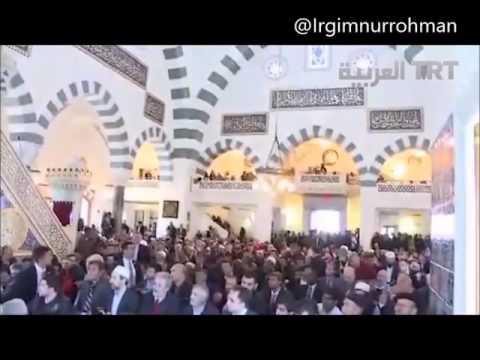 Presiden Turki Recep Tayyip Erdogan Membaca Al Quran