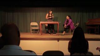 "Josetty Hurtado Meisner technique at LOLAS ""Lally Or Lally Acting School"" Los Angeles"