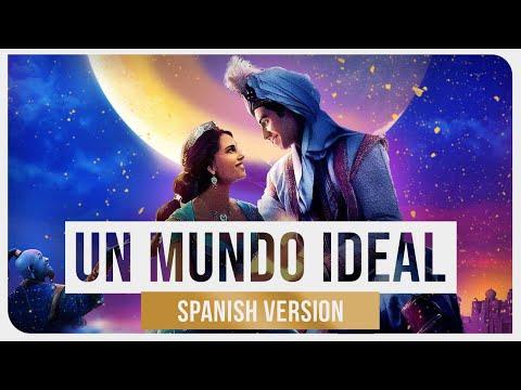 Aladdin ( Mena Massoud & Naomi Scott) - Un Mundo Ideal [feat. Valeria Ruíz]