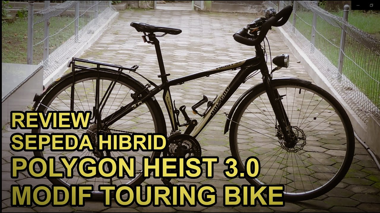 Review Sepeda Touring Polygon Heist 3 0 Youtube